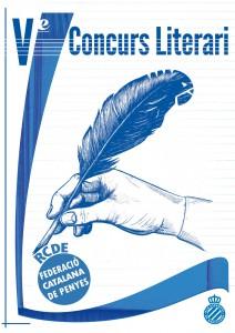 Cartell del V Concurs Literari de la FCPE